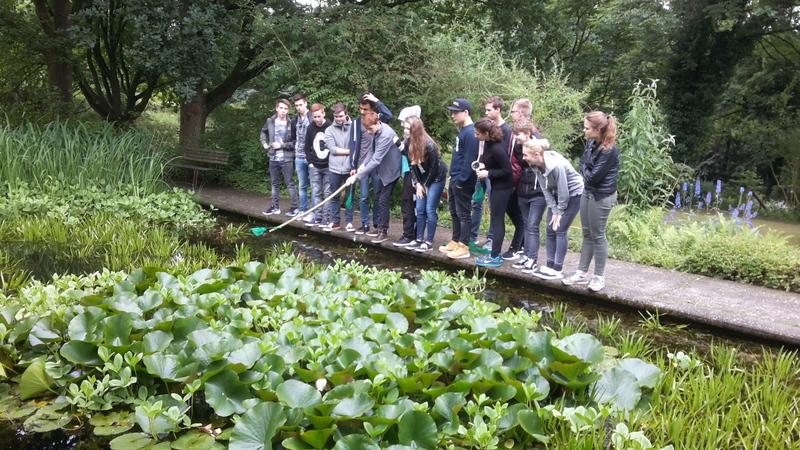 Neues Gymnasium Bochum - Exkurs in den botanischen Garten